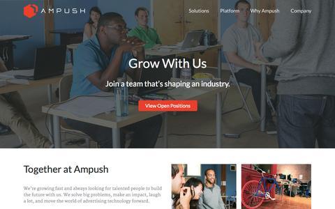 Careers - Ampush