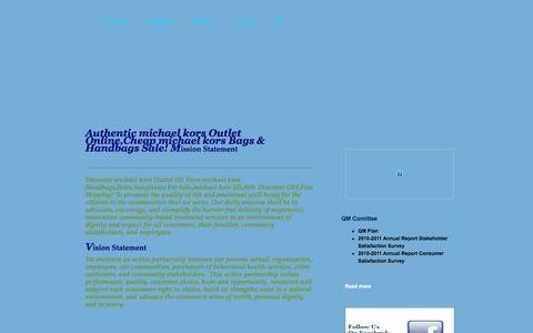 Screenshot of Home Page truebehavioral.com - Authentic michael kors Outlet Online,Cheap michael kors Bags & Handbags Sale! - captured Oct. 9, 2014