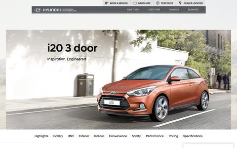 Hyundai i20 3 Door: Small Hatchback   Hyundai UK