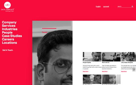 People | Data Template