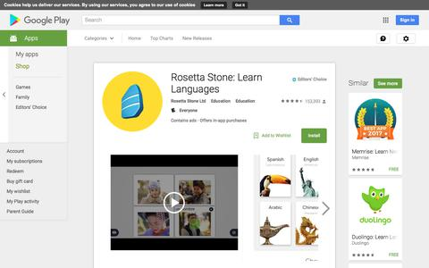 Rosetta Stone: Learn Languages - Android Apps on Google Play