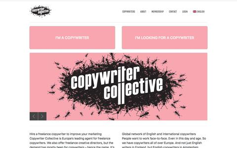 Freelance copywriters for hire - Copywriter Collective