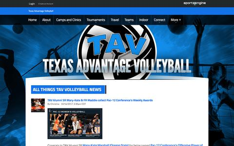 Screenshot of Press Page ascvb.com - In the News - captured Oct. 21, 2017