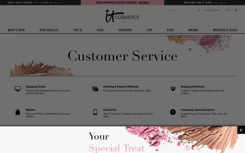 Contact Us! | IT Cosmetics