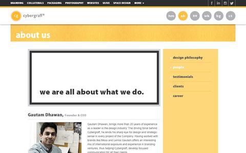 Screenshot of Team Page cybergraff.com - Best Creative Digital Agency in Delhi NCR, India   Cybergraff - captured July 22, 2018