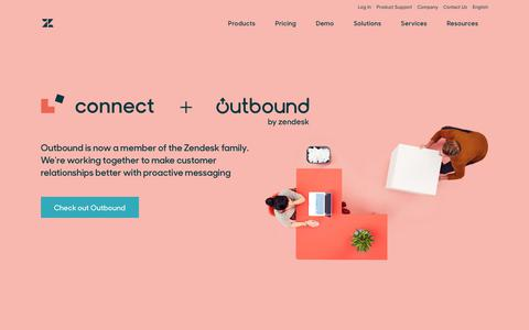 Customer Engagement Software with Zendesk Connect