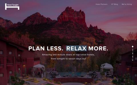HotelTonight - Last Minute Deals on Great Hotels