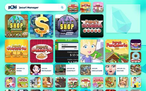 Screenshot of Team Page poki.ro - JOCURI MANAGER Online - Joaca Jocuri Manager Gratis pe Poki.ro! - captured Dec. 12, 2018
