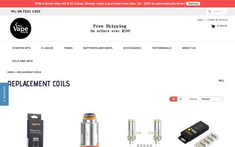 Replacement Coils | The Vape Store