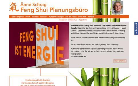 Screenshot of Home Page feng-shui-planungsbuero.de - Feng Shui Planungsbüro: Home - captured June 27, 2018