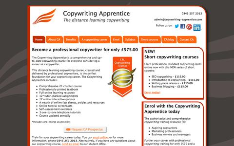 Distance learning copywriting courses | Home study copywriting course