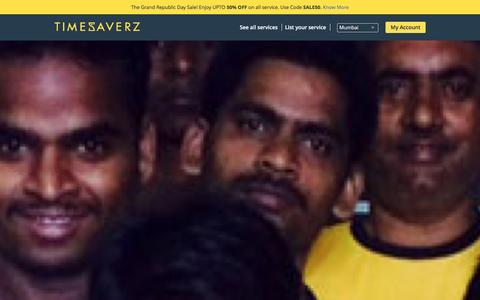 Screenshot of About Page timesaverz.com - Timesaverz - About Us | The Team - captured Jan. 21, 2016