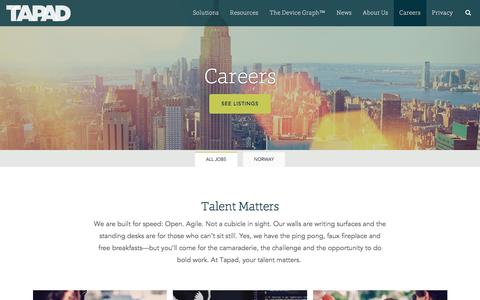Tapad Careers and Internships | Tapad