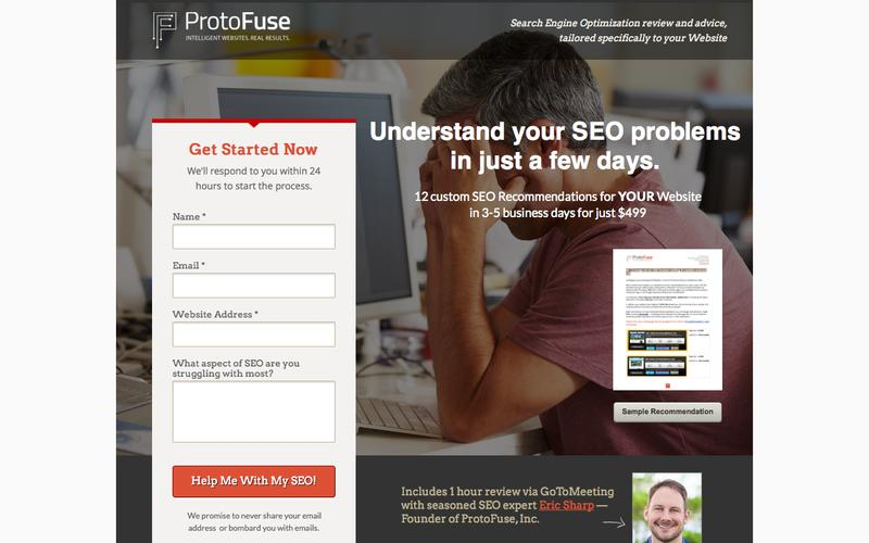 SEO Website Review - 12 Recommendations for your Website - ProtoFuse