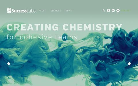 Screenshot of Home Page mysuccesslab.com - Homepage - Success Labs - captured Nov. 16, 2018