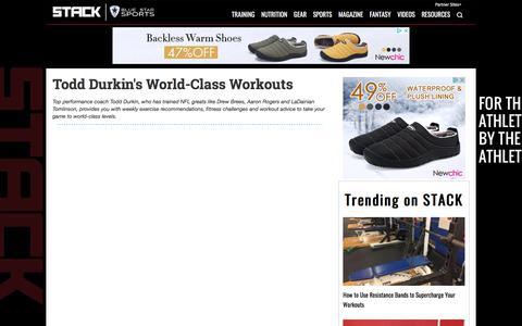 Todd Durkin's World-Class Workouts | STACK