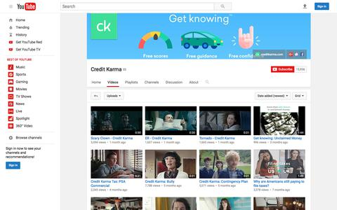 Credit Karma  - YouTube