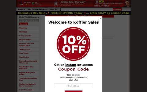 Screenshot of Terms Page kofflersales.com - Koffler Sales Company customer satisfaction guarantee - captured Oct. 13, 2019