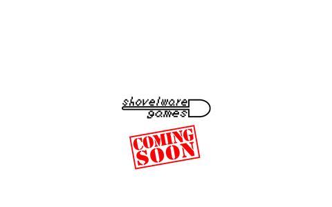 Screenshot of Home Page shovelware.com - shovelware games - captured Oct. 6, 2014