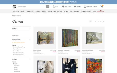 canvas, Posters and Prints at Art.com