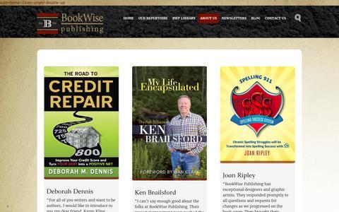 Screenshot of Testimonials Page bookwisepublishing.com - Testimonials - BookWise Publishing - captured July 29, 2016