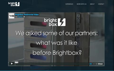 Screenshot of Testimonials Page brightboxcharge.com - brightbox |   Testimonials - captured Sept. 13, 2014
