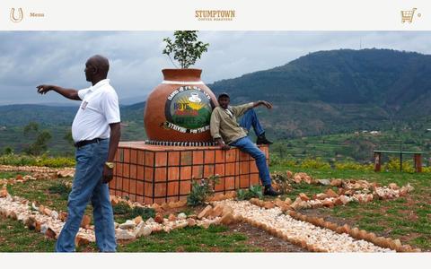 Screenshot of Blog stumptowncoffee.com - What We're Drinking Now: Rwanda Huye Mountain    Stumptown Coffee Roasters Blog - captured Feb. 10, 2016