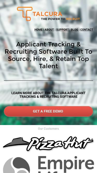 Talcura  Applicant Tracking System Demo
