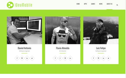 Screenshot of About Page Team Page idevmobile.com - Team | iDevMobile Tec. - captured Sept. 30, 2016