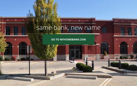 Screenshot of Home Page bankofquincy.com - Bank of Quincy - captured Dec. 29, 2015