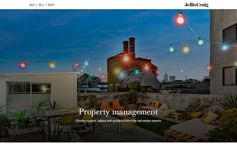 Screenshot of Team Page jelliscraig.com.au - Property Management | Jellis Craig - captured Aug. 7, 2016