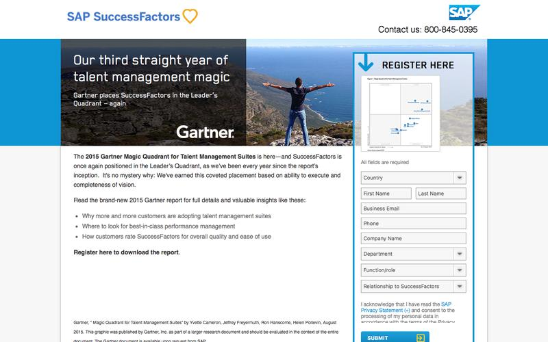 2015 Gartner Magic Quadrant