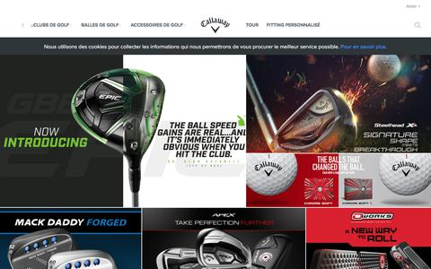 Official Callaway Golf Site | Golf Clubs | Golf Equipment