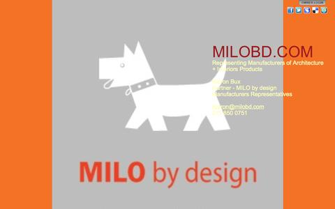 Screenshot of Home Page milobd.com - MILOBD.COM - captured Oct. 3, 2014