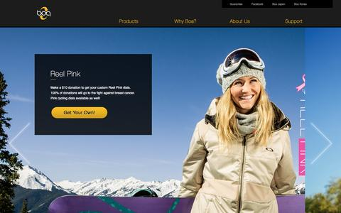Screenshot of Home Page boatechnology.com captured Nov. 10, 2015