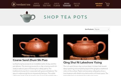 Tea Pot | Verdant Tea