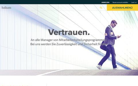 Solium | Verwaltungssoftware für Beteiligungsprogramme