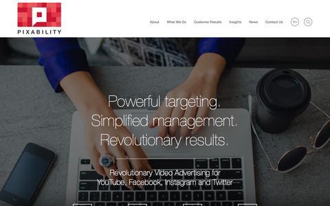 Pixability   Video Advertising for Premium Platforms