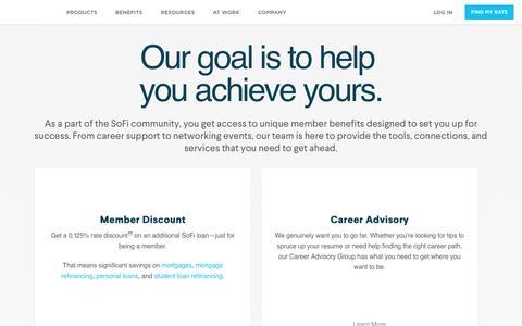 Community Benefits | SoFi