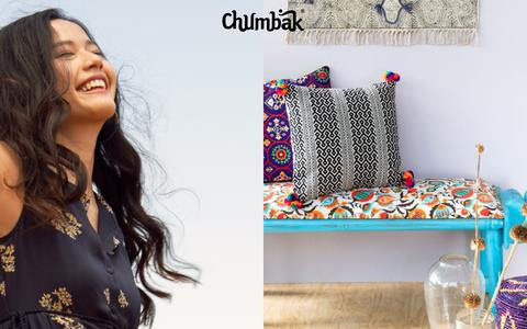 Screenshot of Home Page chumbak.com - Welcome to our Online Brand Store - Chumbak - captured July 5, 2019