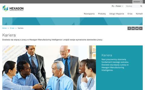 Screenshot of Jobs Page hexagonmi.com - Kariera | Hexagon Manufacturing Intelligence - captured Oct. 21, 2018