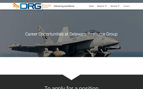 Screenshot of Jobs Page drgok.com - Job Offers at Aerospace Company in Oklahoma City, OK - captured May 16, 2019