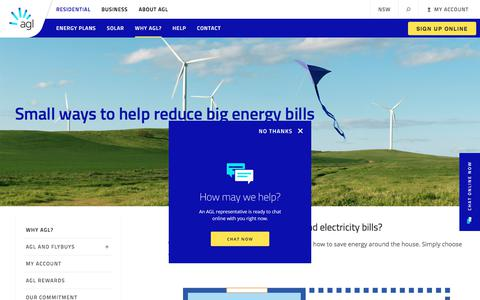 Energy Savings Tips, Advice & Tools | AGL