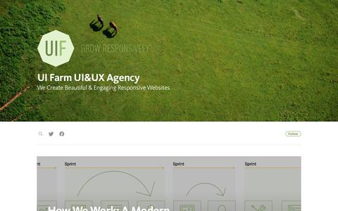 Screenshot of Blog uifarm.co.uk - UI Farm UI&UX Agency - captured Nov. 18, 2016
