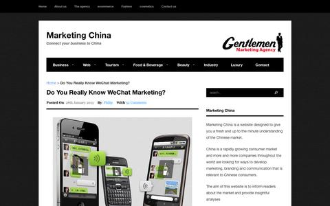 Do You Really Know WeChat Marketing? - Marketing China