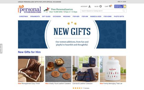 Shop New Gifts for Him from Personal Creations