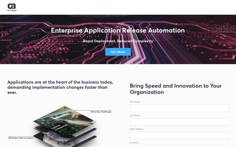 Enterprise Application Release Automation - CA Technologies