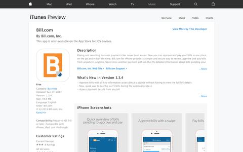 Bill.com on the App Store