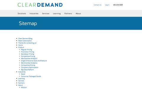 Price Optimization for Omnichannel Retail | Clear Demand
