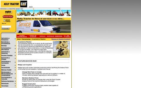 Screenshot of Landing Page kellytractor.com - Kelly Tractor: Acopladores Rápidos - captured Aug. 12, 2016